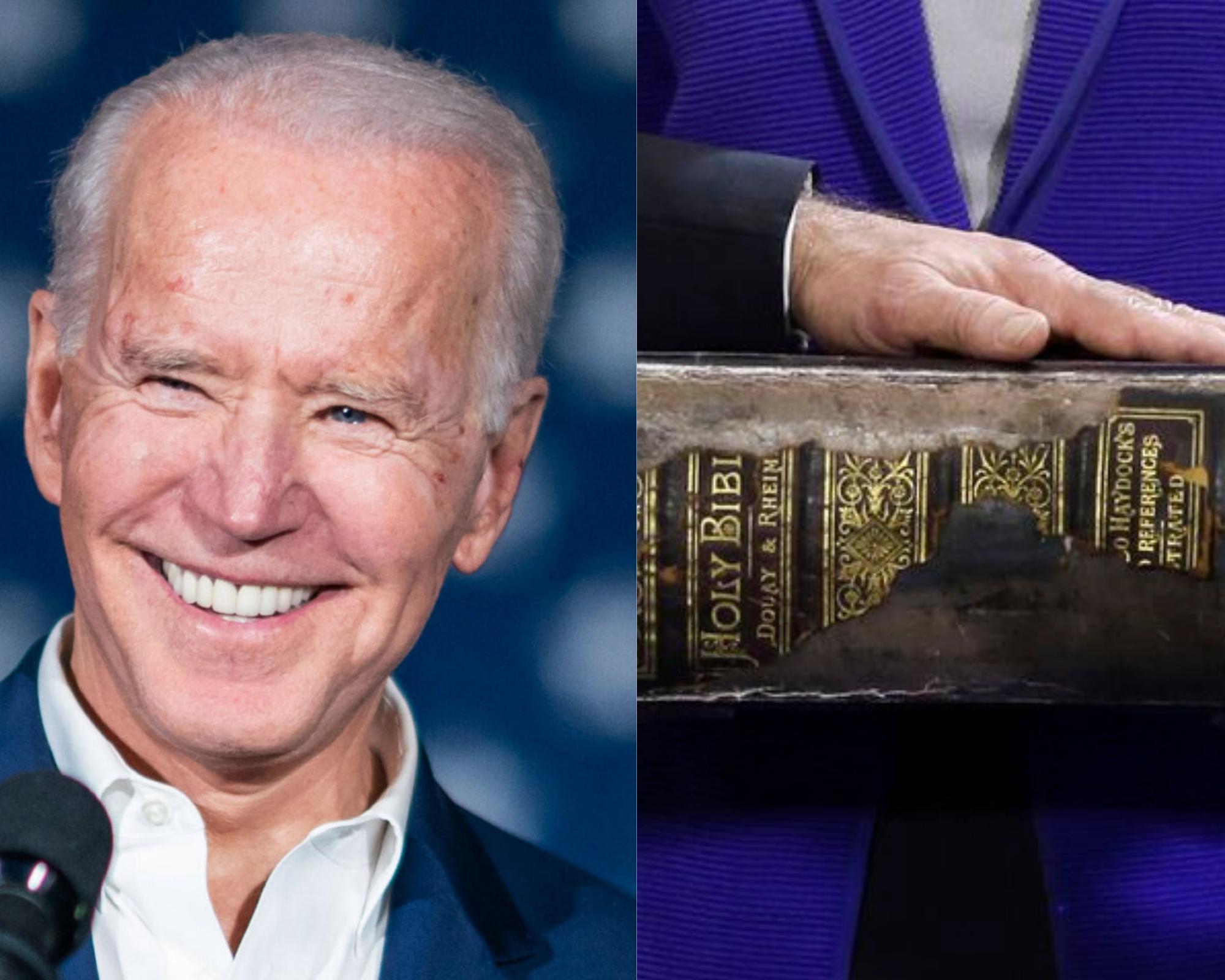Biden met bible
