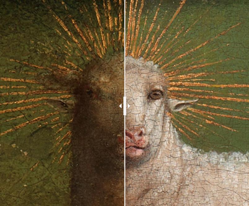 Van Eyck Avant Après