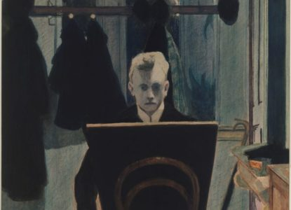 autoportrait Spilliaert