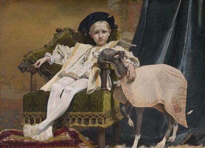 800px Keizer Karel als kind Jan Van Beers 1879 Koninklijk Museum voor Schone Kunsten Antwerpen 2336