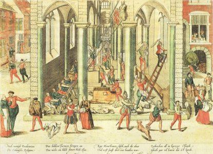 979px Frans Hogenberg gravure Antwerpen Bildersturm 1566