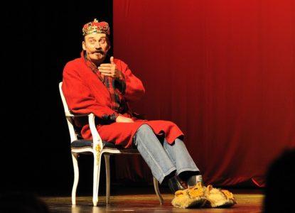 Bert Kruismans op scène