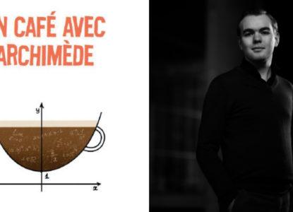 Café Archimède et auteur
