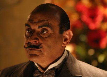 Hercule Poirot groot beeld rights Granada