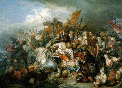 Nicaise de Keyser La Bataille des Eperons dor museum Kortrijk