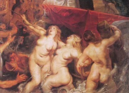 Rubens L Arivée de Marie de Médicis à Marseille