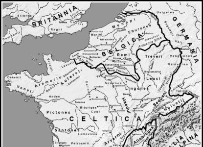 Carte belgica menapi