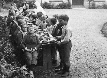 Hopital belge repas garcon