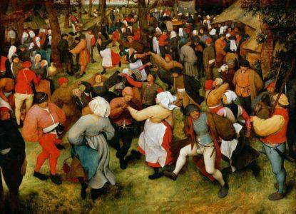 Pieter brueghel l ancien la danse de la mariee en plein air v 1566