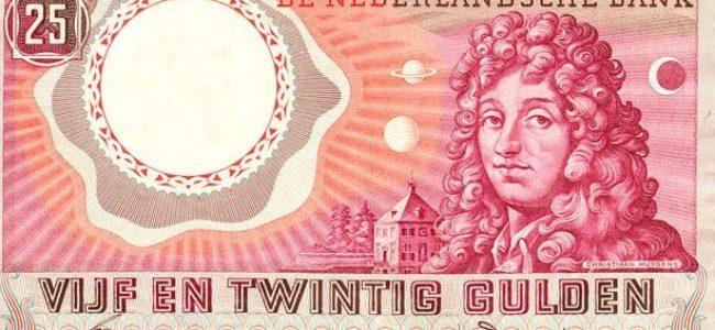 25 gulden sans cadre noir
