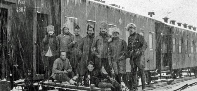 9 Siberische trein maart 1918 De Pauw