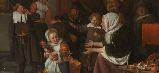 Jan Havicksz Steen Het Sint Nicolaasfeest Google Art Project