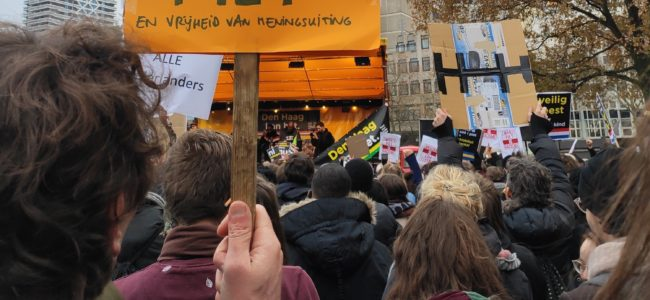 Kozp protest in The Hague 2019 t Veertje