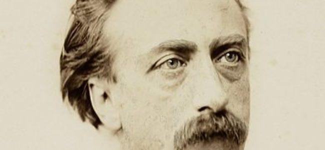 Portret van de schrijver Multatuli