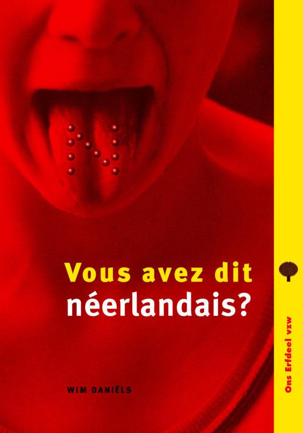 FRONT Vous avez dit neerlandais